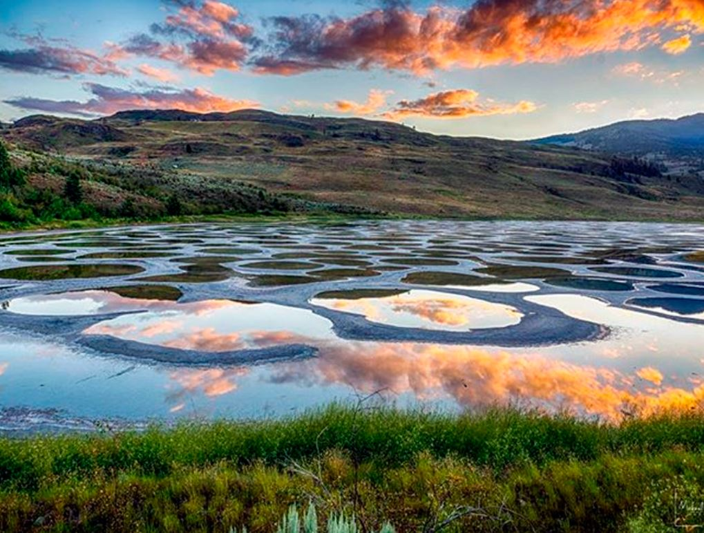 Пятнистое озеро — Клилук