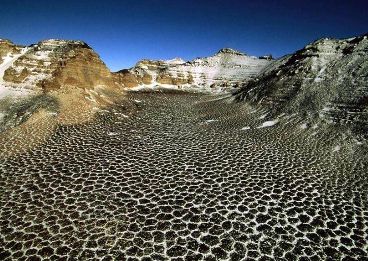 Самые необычные места на Земле. Сухие Долины в Антарктиде