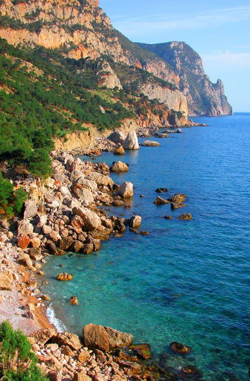 Где находится бухта Ласпи в Крыму и что в можно увидеть!