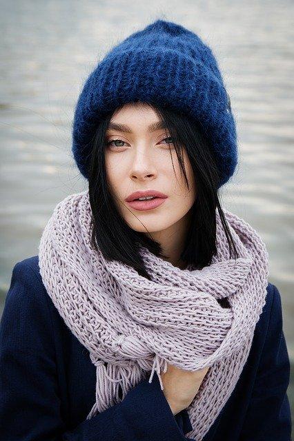 Зимнее пальто женское очарование. Как правильно подобрать шапку к верхней одежде.